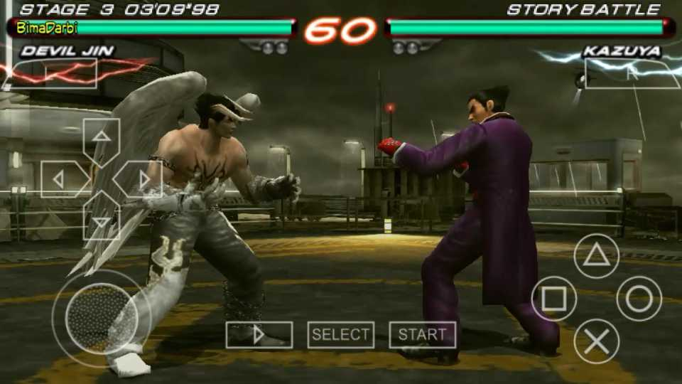 Tekken 6 PPSSPP ISO Highly Compressed For Android - Phones