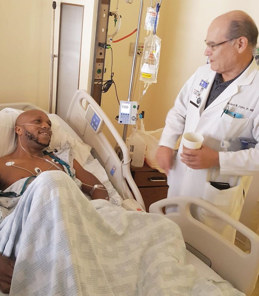 Actor Igwe 2pac Undergoes A Successful Surgery In California 1