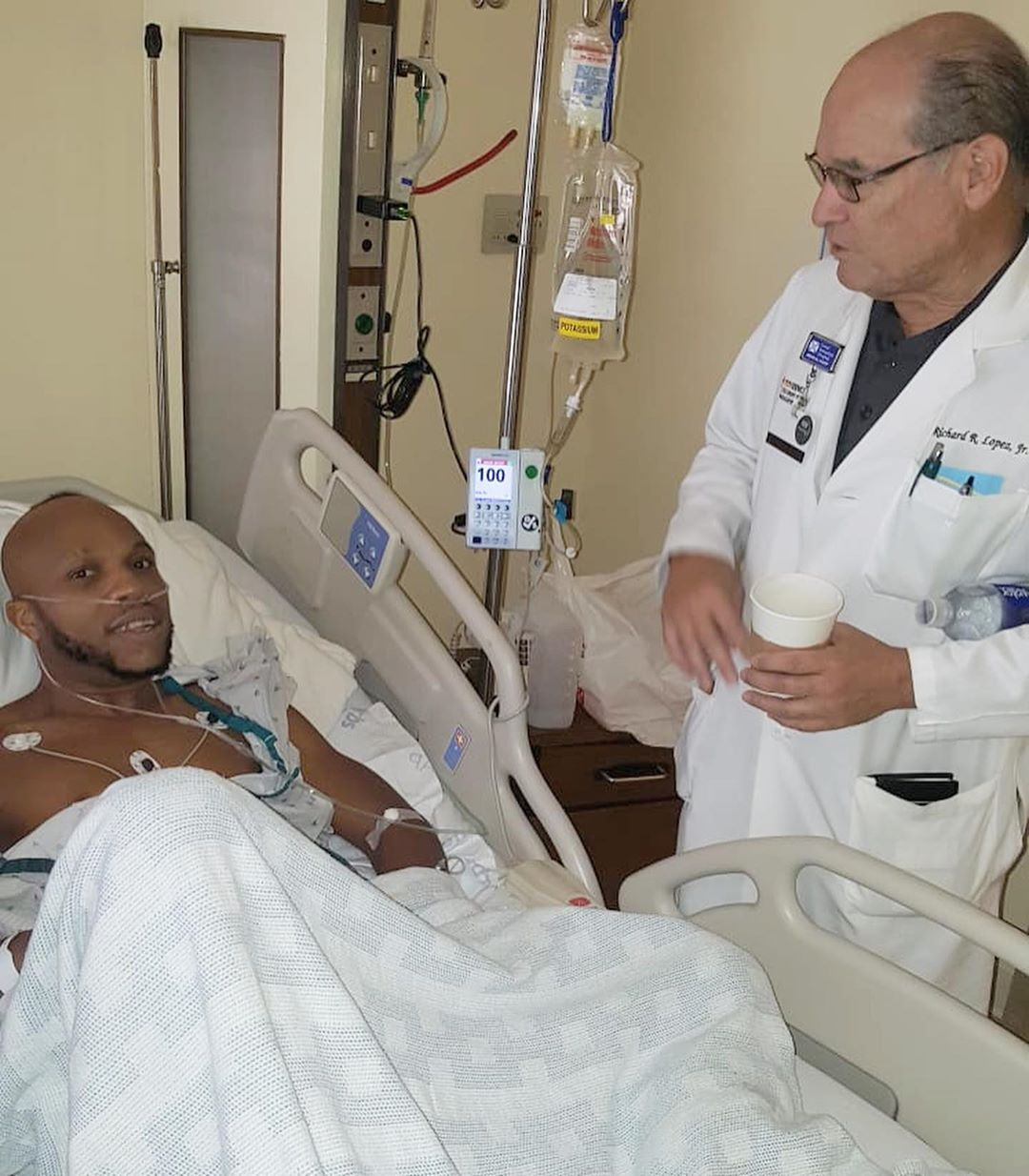 Actor Igwe 2pac Undergoes A Successful Surgery In California 2