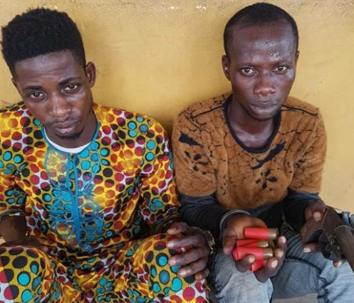 Police Arrest 2 Thieves Who Hang Around Atms To Monitor Bank Customers In Ogun 1