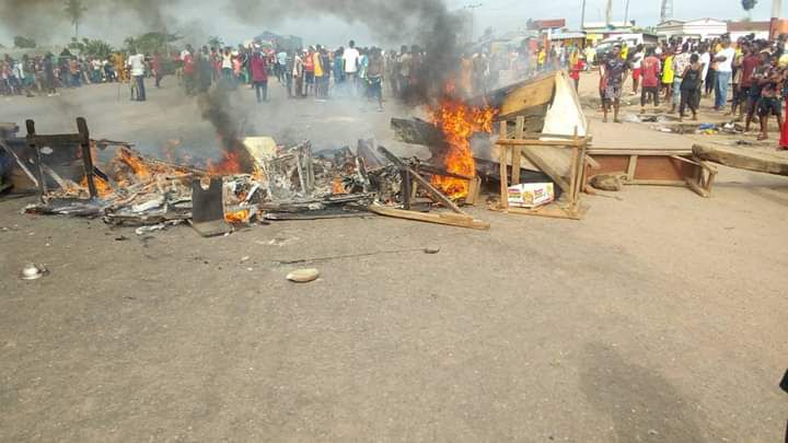 Photos: Bloody Clash Between Fulani And Benin Youths Averted By Police 1