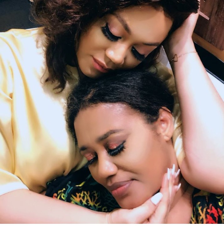 Ghanaian actress, Nadia Buari Celebrates Her Mum On Her Birthday With Lovely Photos 1