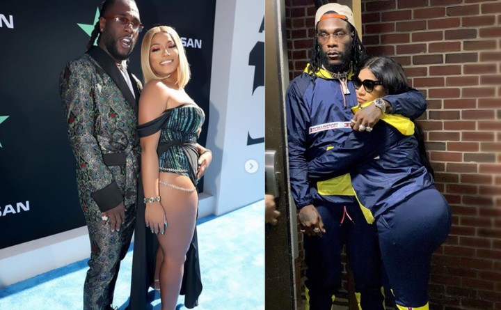 Burna Boy Reacts To Lady Advising Stefflon Don To Stop Posting His Photo 1