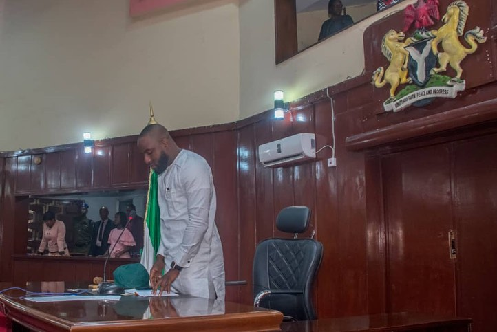 Checkout Photos Of Adebo First Official Sittng As The Oyo Assembly Speaker 1