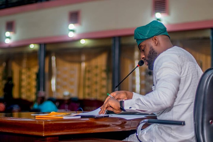 Checkout Photos Of Adebo First Official Sittng As The Oyo Assembly Speaker 2