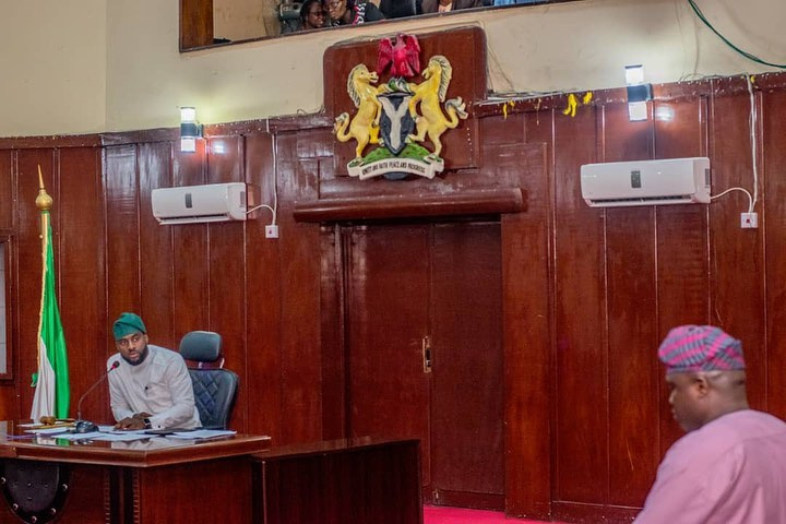 Checkout Photos Of Adebo First Official Sittng As The Oyo Assembly Speaker 3