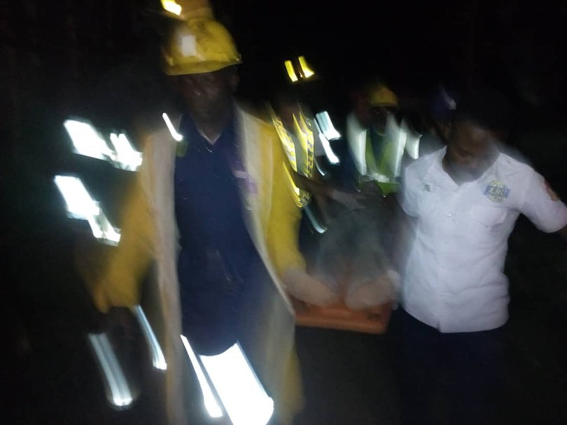 12 Injured As Three Storey Building Collapses In Lagos