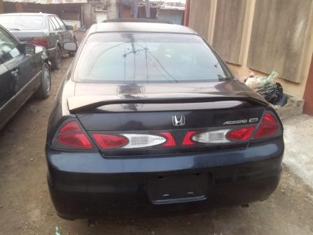 Sold Honda Accord Coupe 2002 Tokunbo For Sale Autos