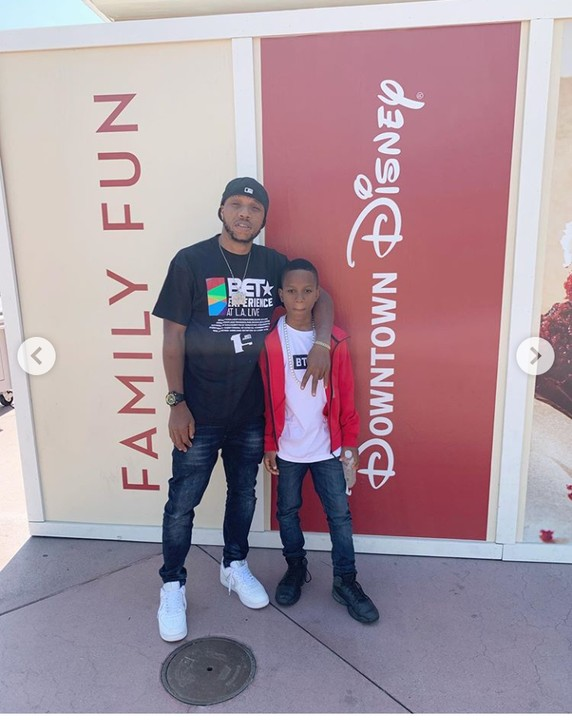 After Successful Surgery, Charles Okocha & Son Step Out In Style In US 1