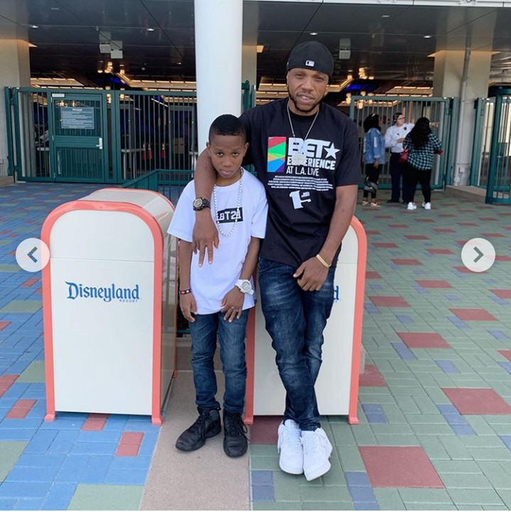 After Successful Surgery, Charles Okocha & Son Step Out In Style In US 3