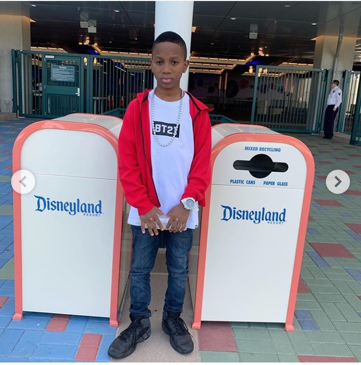 After Successful Surgery, Charles Okocha & Son Step Out In Style In US 2