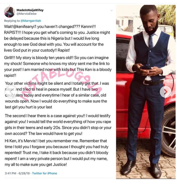 Another Pastor Apologises For Raping A Girl