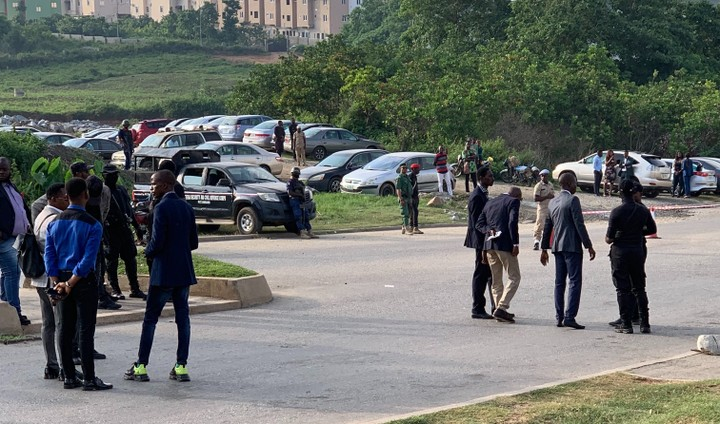2 Arrested As Hooded SSS Officials Storm COZA