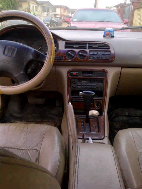 neatly used 1996 honda accord bulldog full option selling for only 400k autos nigeria. Black Bedroom Furniture Sets. Home Design Ideas