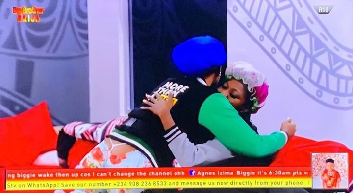 BBNaija: Tacha Reconciles With Thelma After Fight