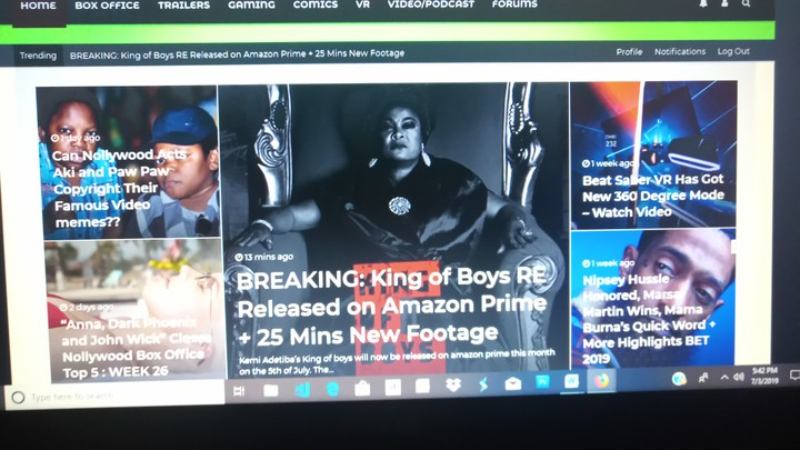 King Of Boys Will Be Out On Amazon Prime - TV/Movies - Nigeria