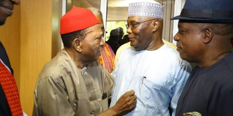 87-year Old Prof Nwabueze Leads Atiku's, Pdp's Legal Team