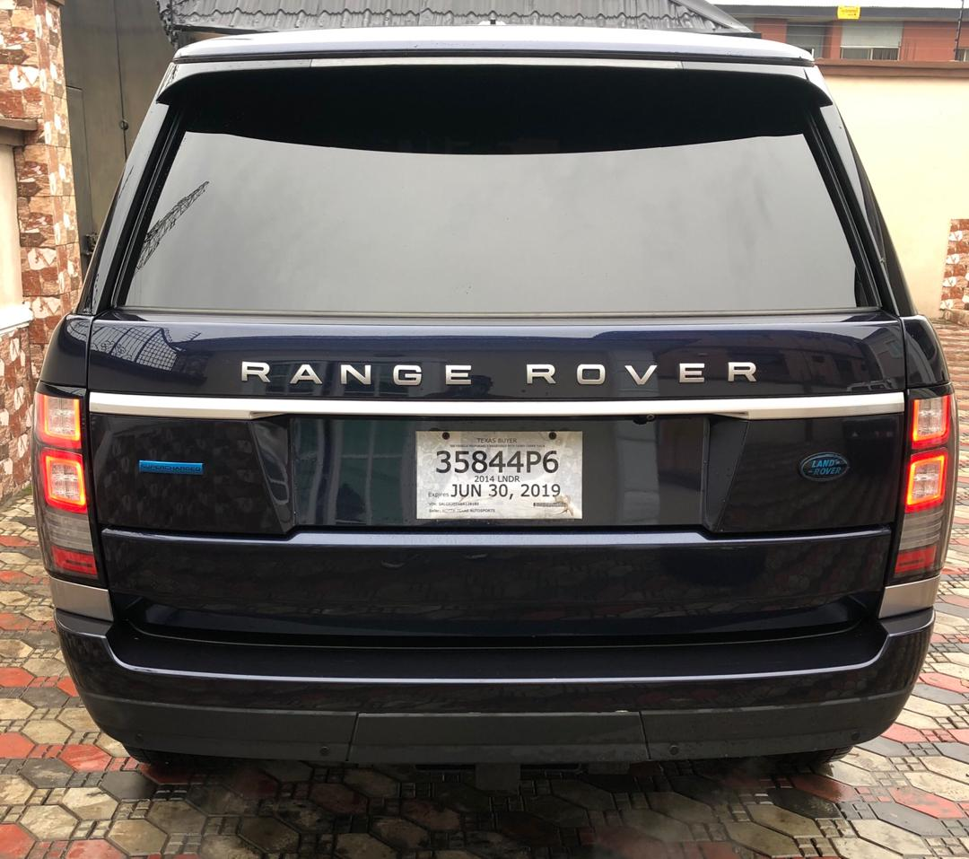 2014 Land Rover Range Rover Sport: 2014 Range Rover Sports Supercharged