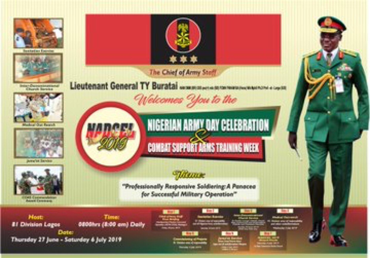Pictures Of Nigerian Army Day Celebration (NADCEL 2019