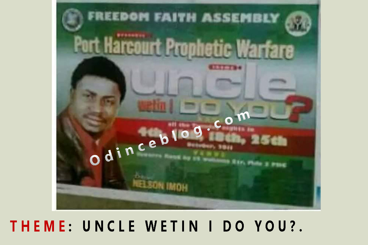 26 Church Names In Nigeria That Will Shock You + Themes
