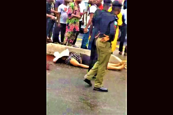 Lady Crushed To Death By A Vehicle