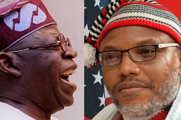 Image result for Nnamdi Kanu To Tinubu