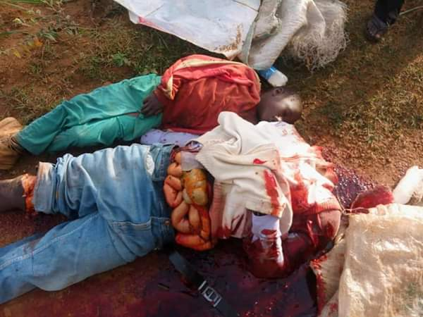 Photos Of The Man & His Son Killed By Fulani Herdsmen In Plateau State