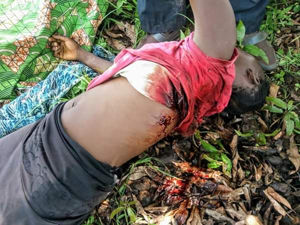 Fulani Herdsmen Accused Of Killing A Pregnant Woman In Plateau State (Graphic Photos)