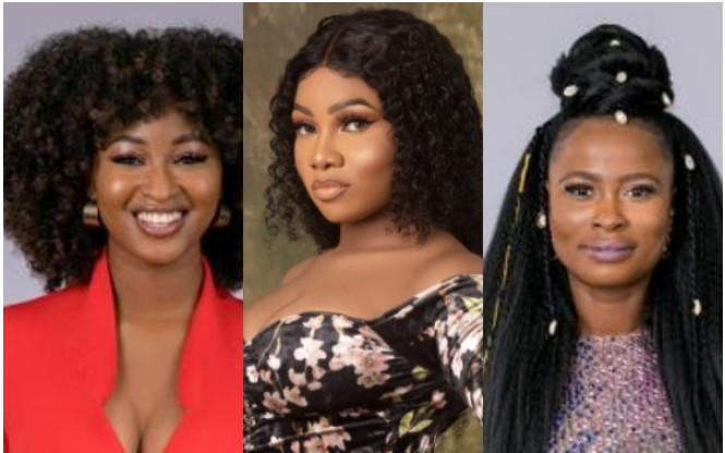 Image result for ella and tacha and kim oprah bbnaija