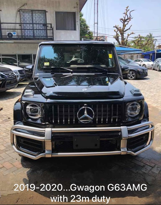 2019 Mercedes Benz G63 AMG    115 (23m Duty Lagos Cleared Paid In