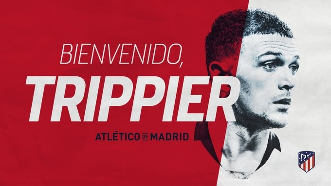 Kieran Trippier Joins Atletico Madrid From Tottenham
