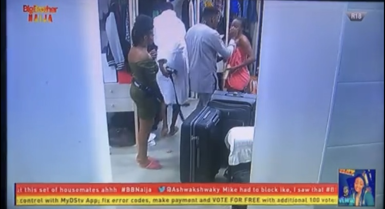 #BBNaija : Thelma Furious As Omashola Enters The Bathroom While She Was Unclad 4