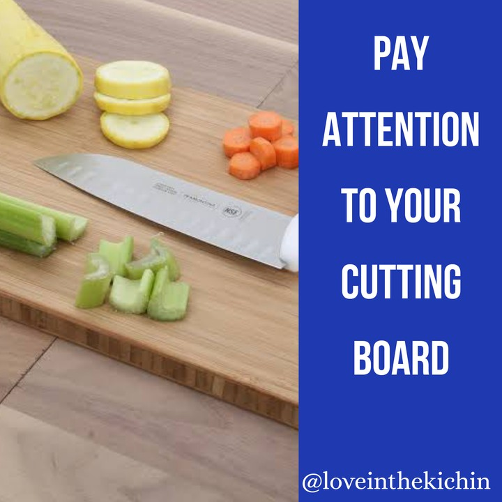 Your Cutting Board Vs Your Toilet Seat Cover Food Nigeria