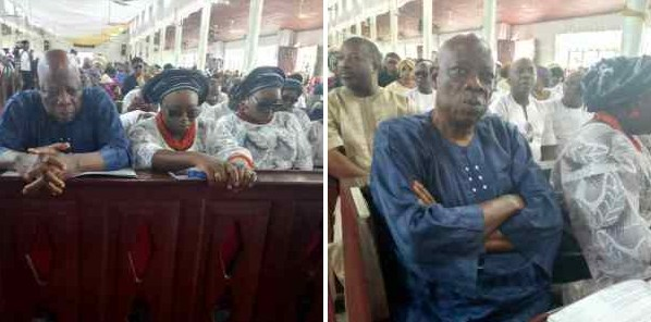Photos From Afenifere Leader Daughter, Olakunri Burial In Ondo State