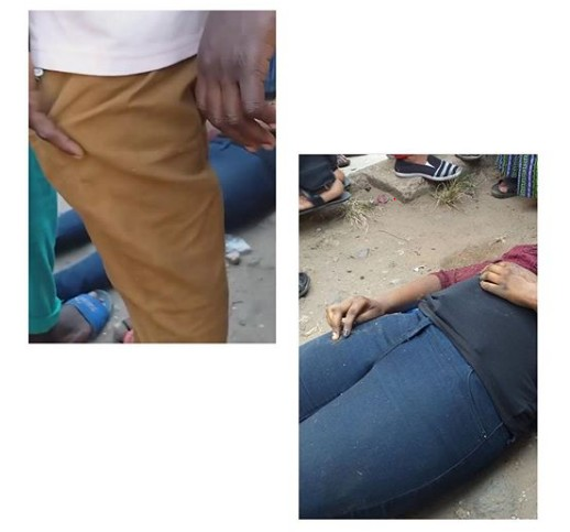 Lady Dies After Misstepping While Alighting From A Bus [Photos]