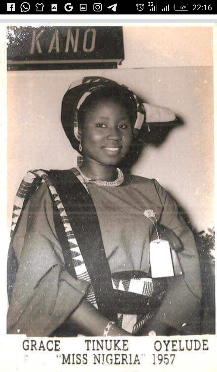Photo: The First Miss Nigeria Who Is Currently 86 Years Old
