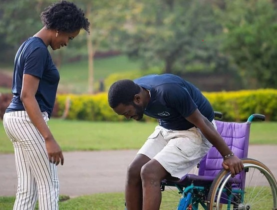 Couple Had An Accident After Their Proposal; She Stayed To Marry Him In A Wheelchair