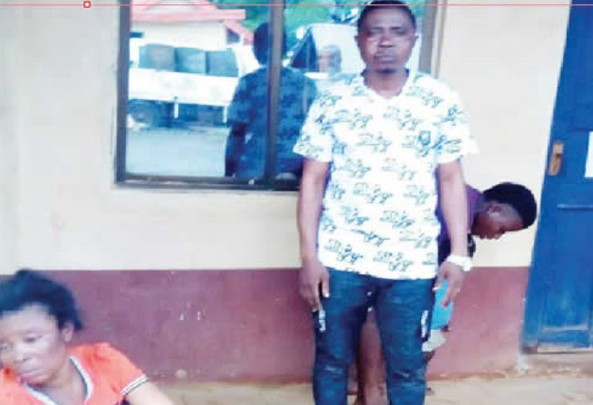 Suspected Child Traffickers Nabbed By Vigilante [Photo]