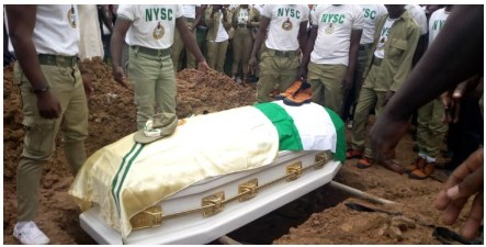 Photo From Precious Owolabi Full NYSC Burial Today
