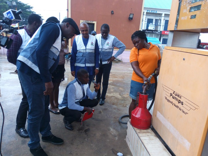 DPR sanctions 2 petrol outlets in Asaba