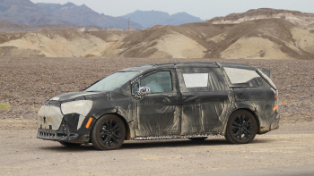 2021 Toyota Sienna Spied For The First Time - Car Talk ...