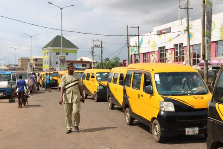 Anambra Displays The New Colours For Buses And Other