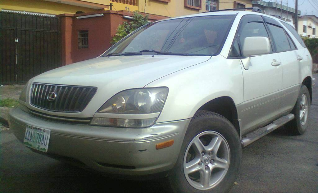 Used Lexus Rx >> TOYOTA LEXUS RX300 JEEP--FULL OPTIONS--COMES WITH D.V.D ...