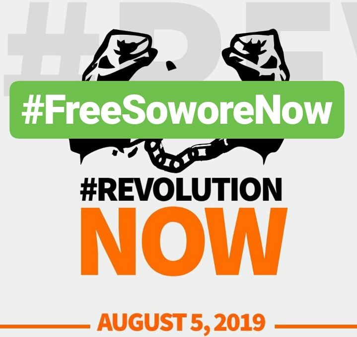 Revolution Now: Organisers To Continue Protest Tomorrow, Change Lagos Venue