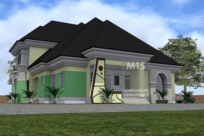 Building a modern 3 bedroom duplex in nigeria joy studio for Modern duplex house plans in nigeria