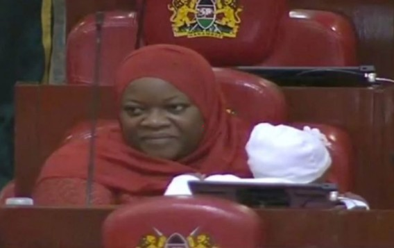 Drama As Lawmaker Is Kicked Out Of Parliament For Coming With Baby [Photo]